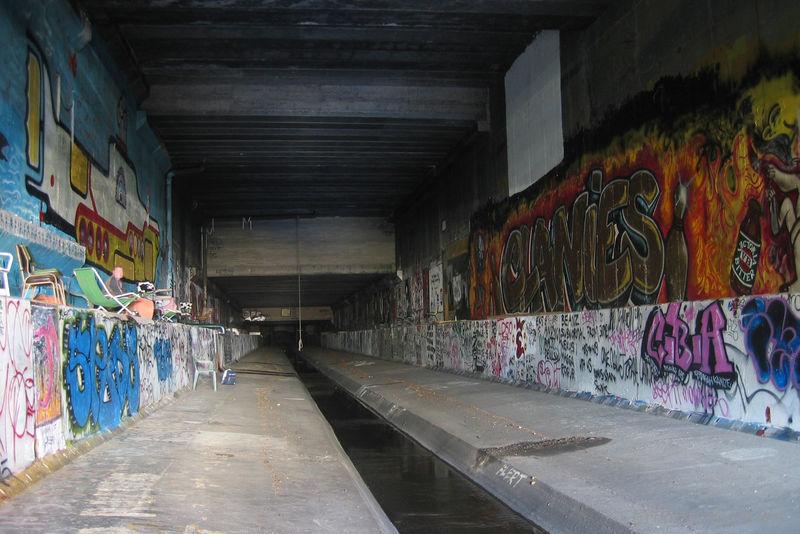 [组图] 墨尔本地下隧道 隐秘的艺术宫殿(23P) - 路人@行者 - 路人@行者